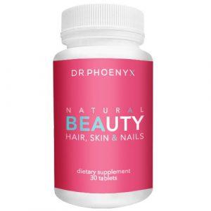 Natural beauty hair vitamiins