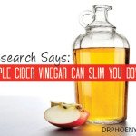 Research Says: Apple Cider Vinegar Can Slim You Down