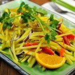 Easy Recipe: Spicy Mango Salad + 8 Mango Fit Facts (# 6 Takes The Gold!)