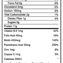 Dr. Phoenyx Beauty Protein Vegan Nutrition Facts