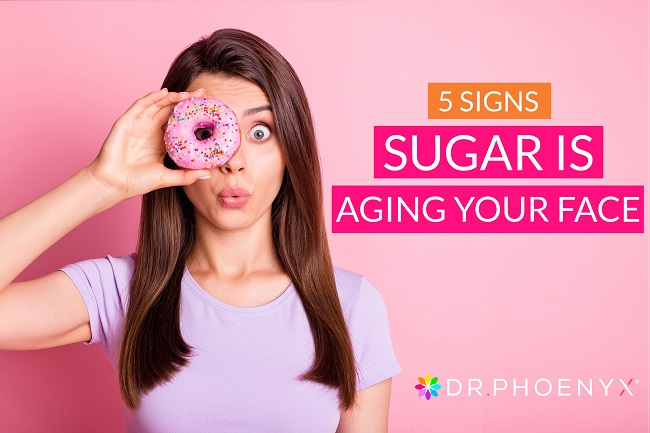 5 signs sugar is aging your face