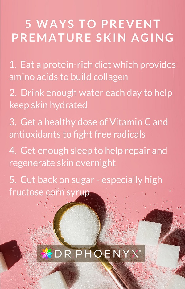 5 ways to prevent skin aging