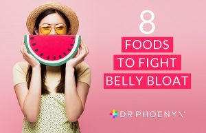 foods to fight belly bloat